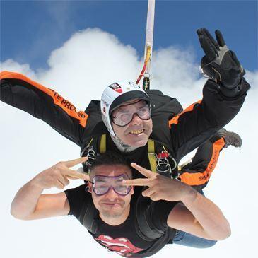 Saut en Parachute Tandem à Lille