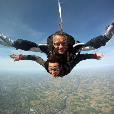 Saut en Parachute, département Nord
