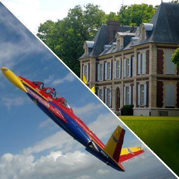 Week end Avion de Chasse au Château de l'Hermitage