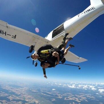 Saut en Parachute Tandem à Dijon