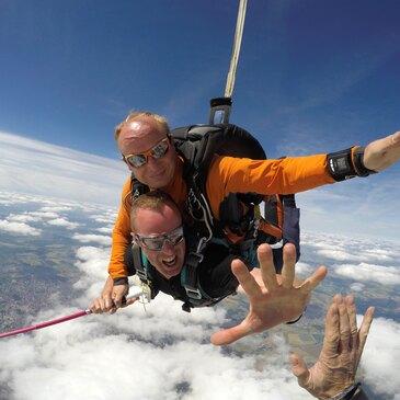 Saut en parachute proche Aéroport de Dijon Bourgogne