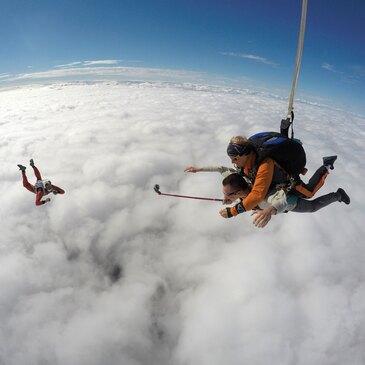 Saut en Parachute Tandem à Dijon en région Bourgogne