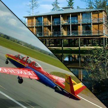 Weekend Vol en Avion de Chasse Fouga Rennes