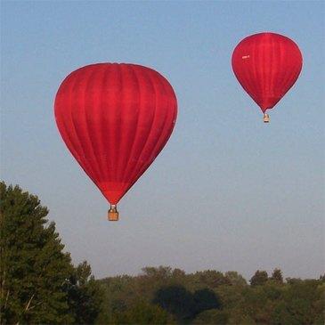Baptême de l'air montgolfière, département Indre