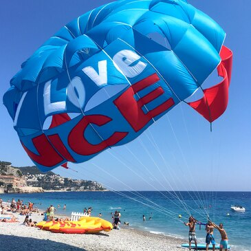 Parachute Ascensionnel proche Nice