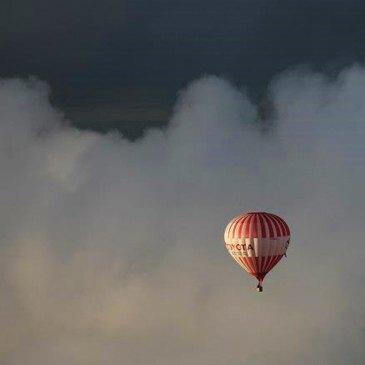 Baptême de l'air montgolfière, département Vienne