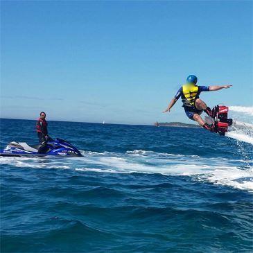 Initiation au Flyboard à Saint-Cyr sur Mer