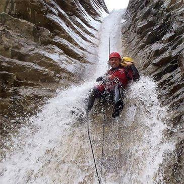 Descente du Canyon du Briançon près de Gap