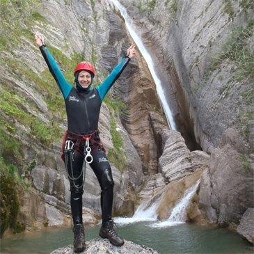 Canyoning, département Alpes de Haute Provence