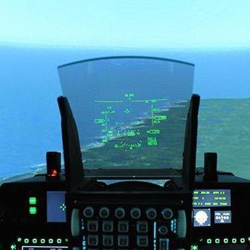 Simulateur de Vol en Avion de Chasse F-16 à Aix-en-Provence