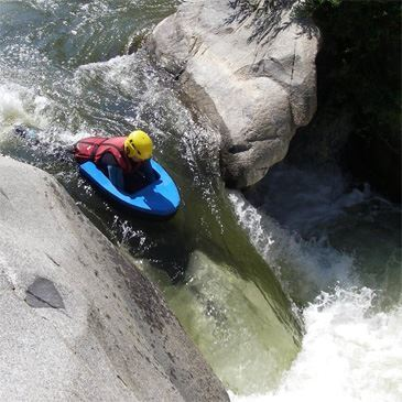 Hydrospeed Gorges du Diable (descente assez sportive)