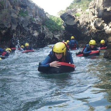 Nage en eaux vives en région Languedoc-Roussillon