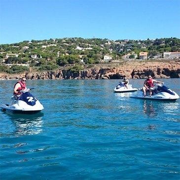 Jet ski Scooter des mers, département Hérault