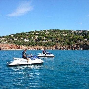 Jet ski Scooter des mers en région Languedoc-Roussillon