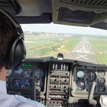 Vol d'Initiation au Pilotage en Avion Calais