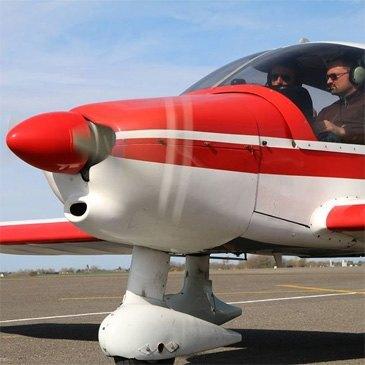 Stage initiation avion, département Pas de calais
