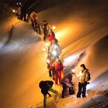 Randonnée Raquette et Nuit en Igloo à Annecy