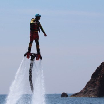 Flyboard, département Alpes Maritimes