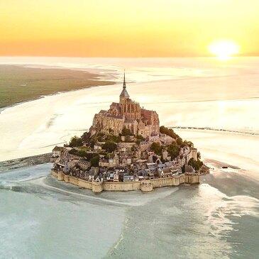 Baptême en Hélicoptère à Dinard - Baie du Mont-Saint-Michel