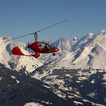 Baptême de l'Air en Autogire - Survol du Mont Blanc