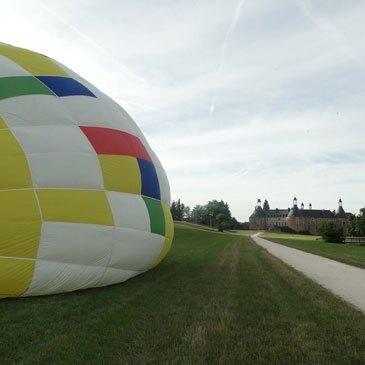 Baptême de l'air montgolfière, département Yonne