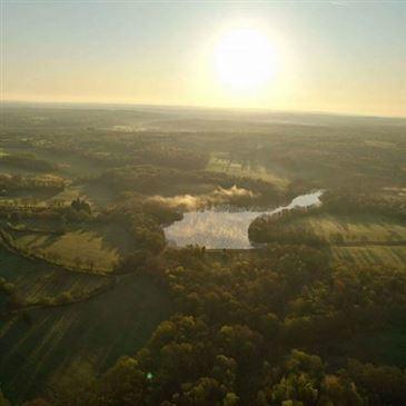 Baptême de l'air montgolfière proche Saint-Sauveur-en-Puisaye