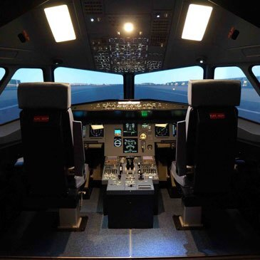 Simulateur de Vol en Avion Airbus A330 à Paris