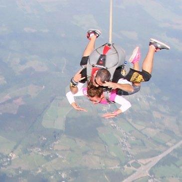 Saut en Parachute en région Belgique