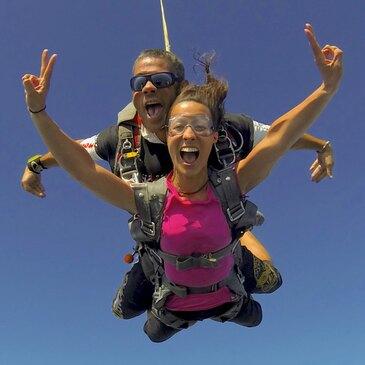 Saut Parachute en Tandem à Spa