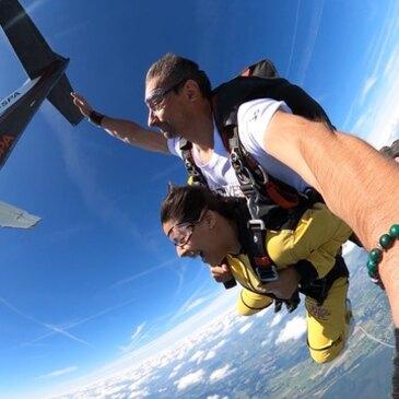 Saut en parachute, département Liège