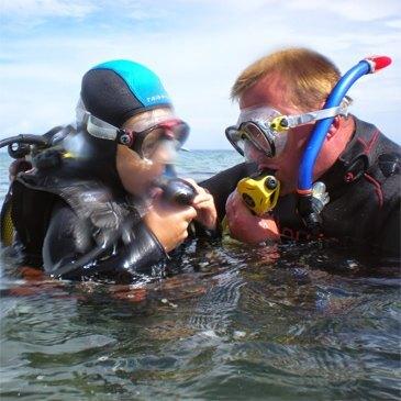 Baptême de plongée , département Morbihan