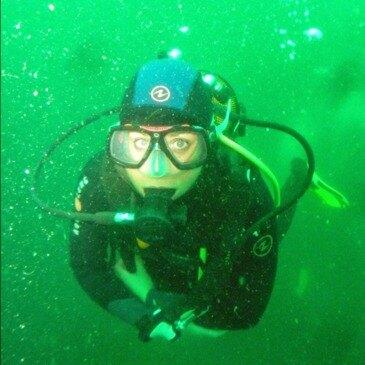 Plongée sous marine, département Ille et vilaine