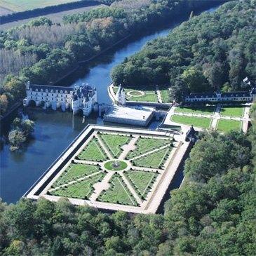 Vol Privatif en Hélicoptère à Orléans - Châteaux du Loiret
