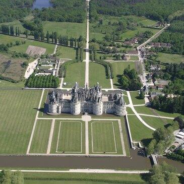 Vol Privatif en Hélicoptère à Orléans - Châteaux du Loiret en région Centre