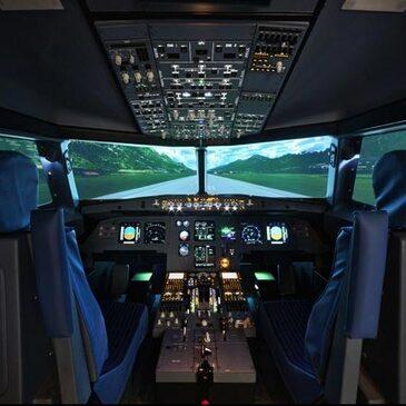 Stage sur Simulateur de Vol Avion de Ligne à Lille