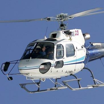 Baptême de l'air hélicoptère, département Gironde