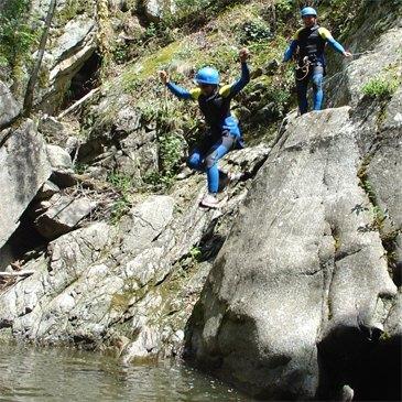 Canyoning, département Pyrénées orientales