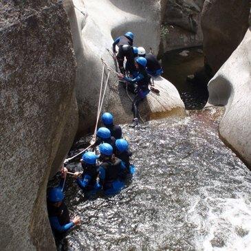 Canyoning en région Languedoc-Roussillon
