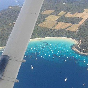 Vol Découverte en avion Survol de Hyères