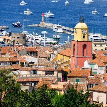 Vol Découverte en Avion Survol de Saint-Tropez