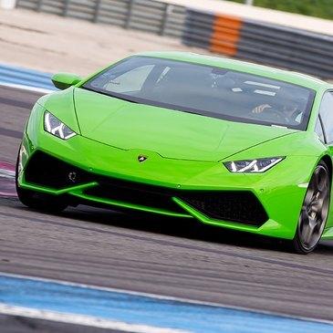 Stage en Lamborghini Huracan sur le Circuit d'Albi