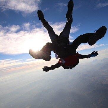 Saut parachute en tandem en Italie