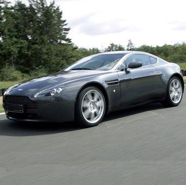 Baptême en Aston Martin V8 Vantage - Circuit de Dreux