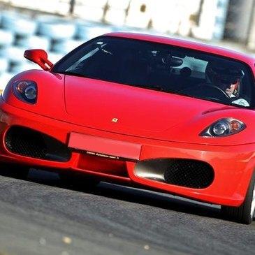 Stage en Ferrari F430 - Circuit de Saint-Laurent-de-Mûre