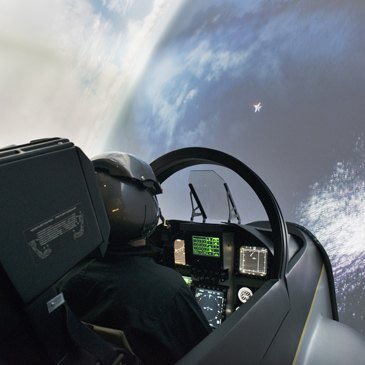 Simulateur de Combat en Avion de Chasse F18 à Lyon