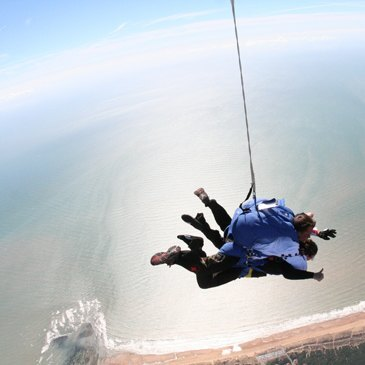 Aérodrome de la Tranche sur Mer, Vendée (85) - Saut en parachute