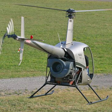 Vol d'initiation Pilotage Hélicoptère Mulhouse