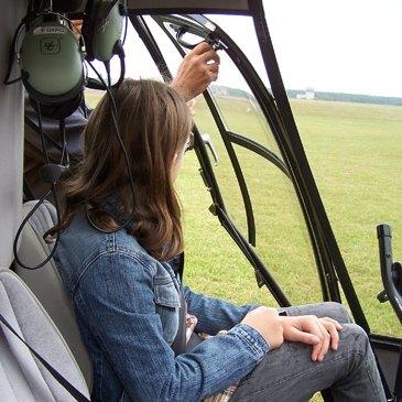 Stage initiation hélicoptère, département Haut rhin