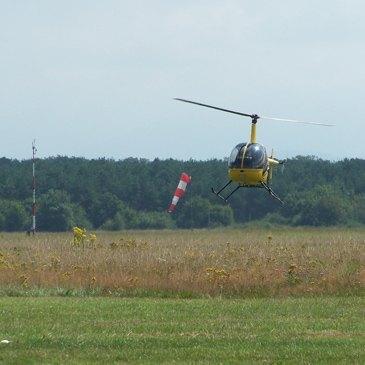 Aérodrome de Mulhouse-Habsheim, Haut rhin (68) - Stage initiation hélicoptère