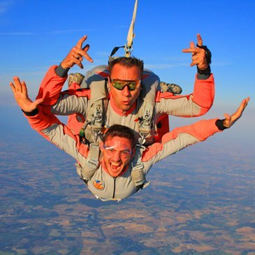 Saut en parachute, département Lot et garonne